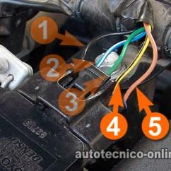 Nissan Sentra Wiring Diagram 2016 2004 Wrx Headlight Parte 1 -cómo Probar El Sensor Iat (1.8l Toyota Corolla)