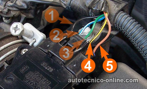 nissan sentra wiring diagram 2016 deta single light switch parte 1 -cómo probar el sensor iat (1.8l toyota corolla)