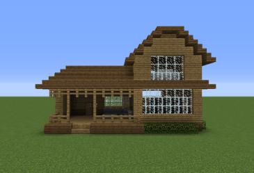 Minecraft Medieval House AutoText com