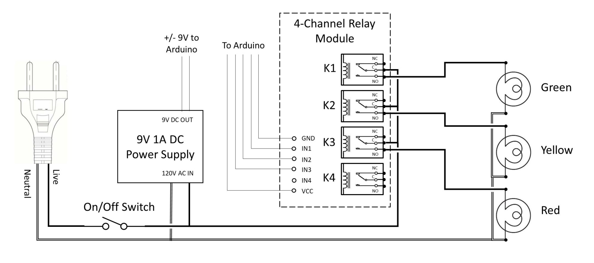 hight resolution of timing light ac schematic