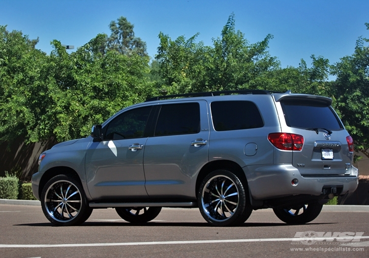 Toyota Sequoia Custom Wheels
