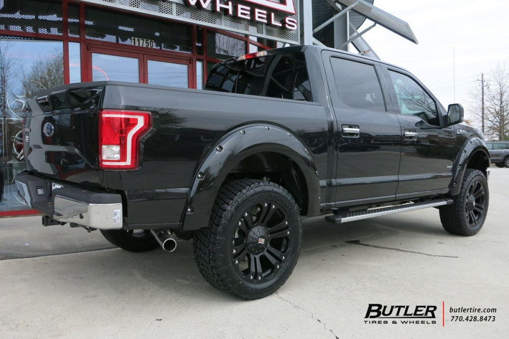 medium resolution of  photo 2 ford f 150 custom wheels xd monster 22x et tire size