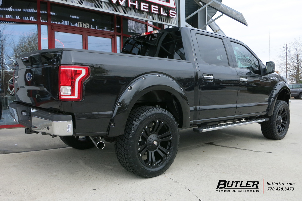 hight resolution of  photo 2 ford f 150 custom wheels xd monster 22x et tire size