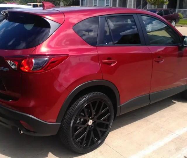 Photo 1 Mazda Cx 5 Custom Wheels Tsw Donnington 22x9 0
