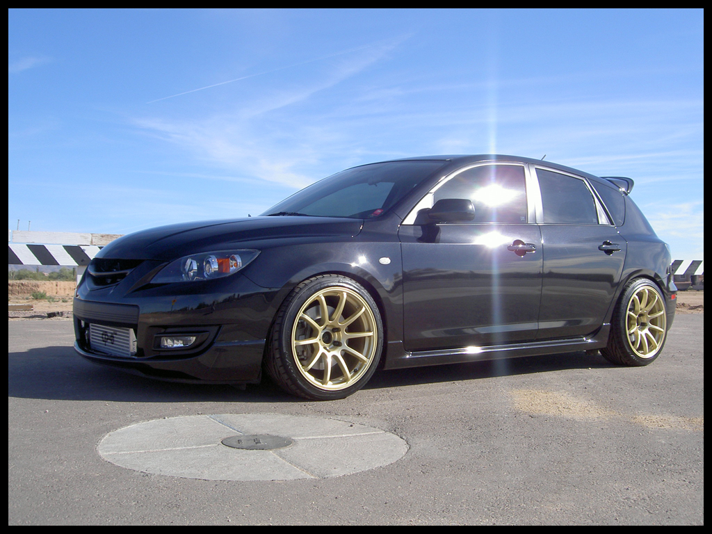 Car Rims And Tires Wallpaper Mazda Mazdaspeed3 Custom Wheels Rota G Force 18x9 0 Et