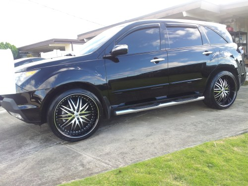 small resolution of photo 2 acura mdx custom wheels lexani 21x10 0 et