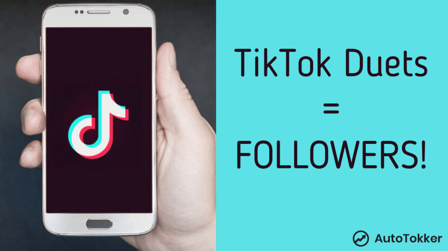 How to do TikTok duets to get more followers fast.