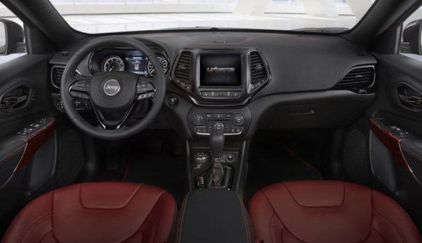 2018 Jeep Grand Wagoneer Interior