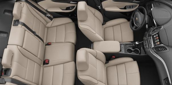 2019 Chevy Impala interior seats