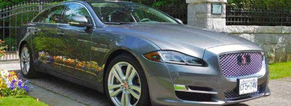 2020 Jaguar XJL Portfolio Redesign