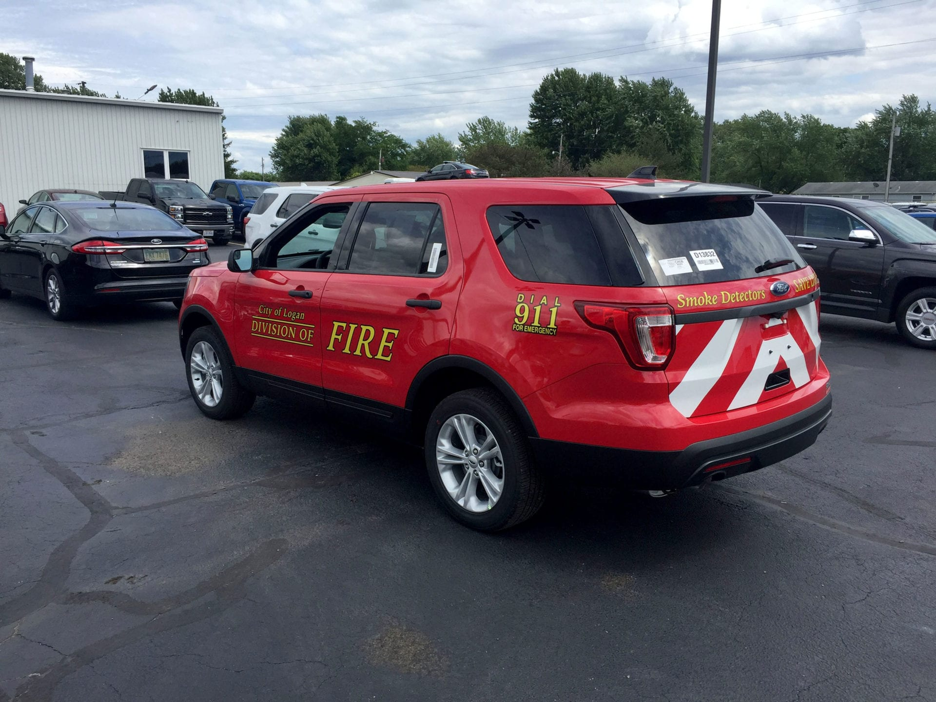 Printed Vinyl Graphics For Fire And Emergency Vehicles