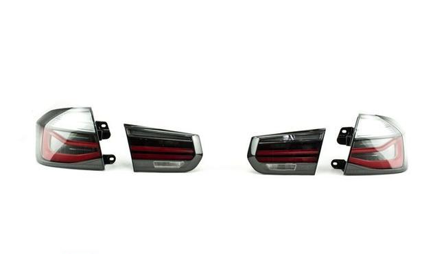 Задние фонари M Performance Black Line для BMW F30