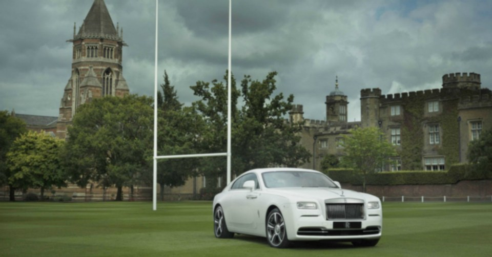 Rolls-Royce Rugby Wraith