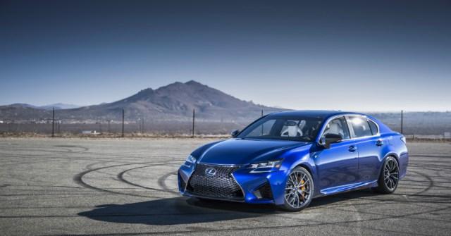 2016 Blue Lexus GS F