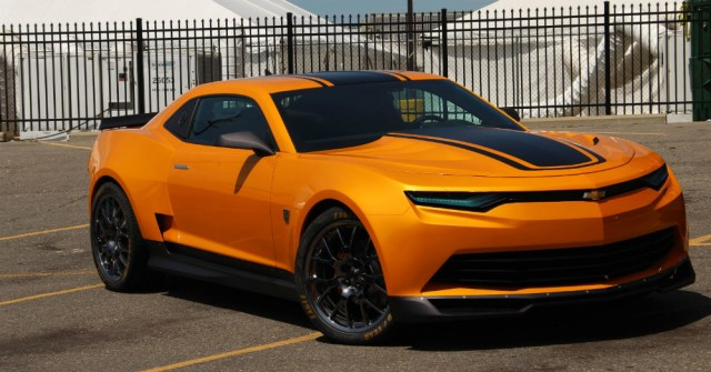 2016 Yellow Chevy Camaro