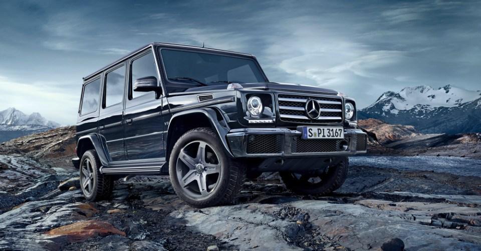 08.02.16 - 2016 Mercedes-Benz G-Class