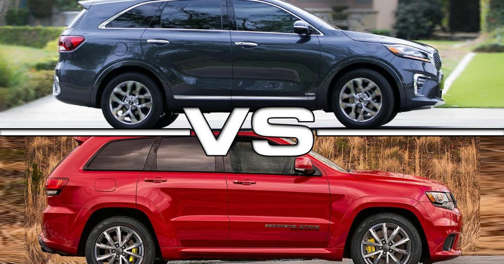 A Versatile Comparison of the Kia Sorento and Jeep Grand Cherokee