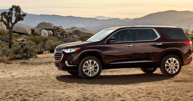 Take Your Family in this Chevy SUV