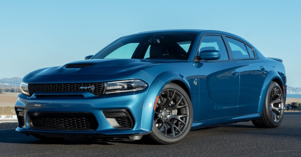 A More Aggressive Version of the Dodge Charger