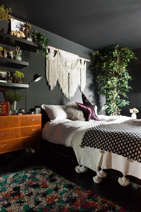 Chambre Rose Et Aubergine - Décoration de maison idées de design d ...