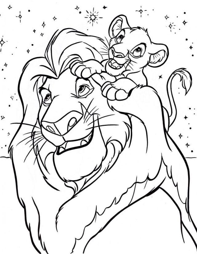Coloriage Disney gratuit à imprimer et colorier