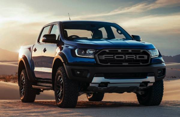 2022 Ford Ranger Raptor USA