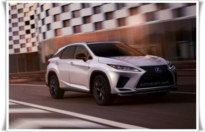 2021 Lexus RX 350 Colors