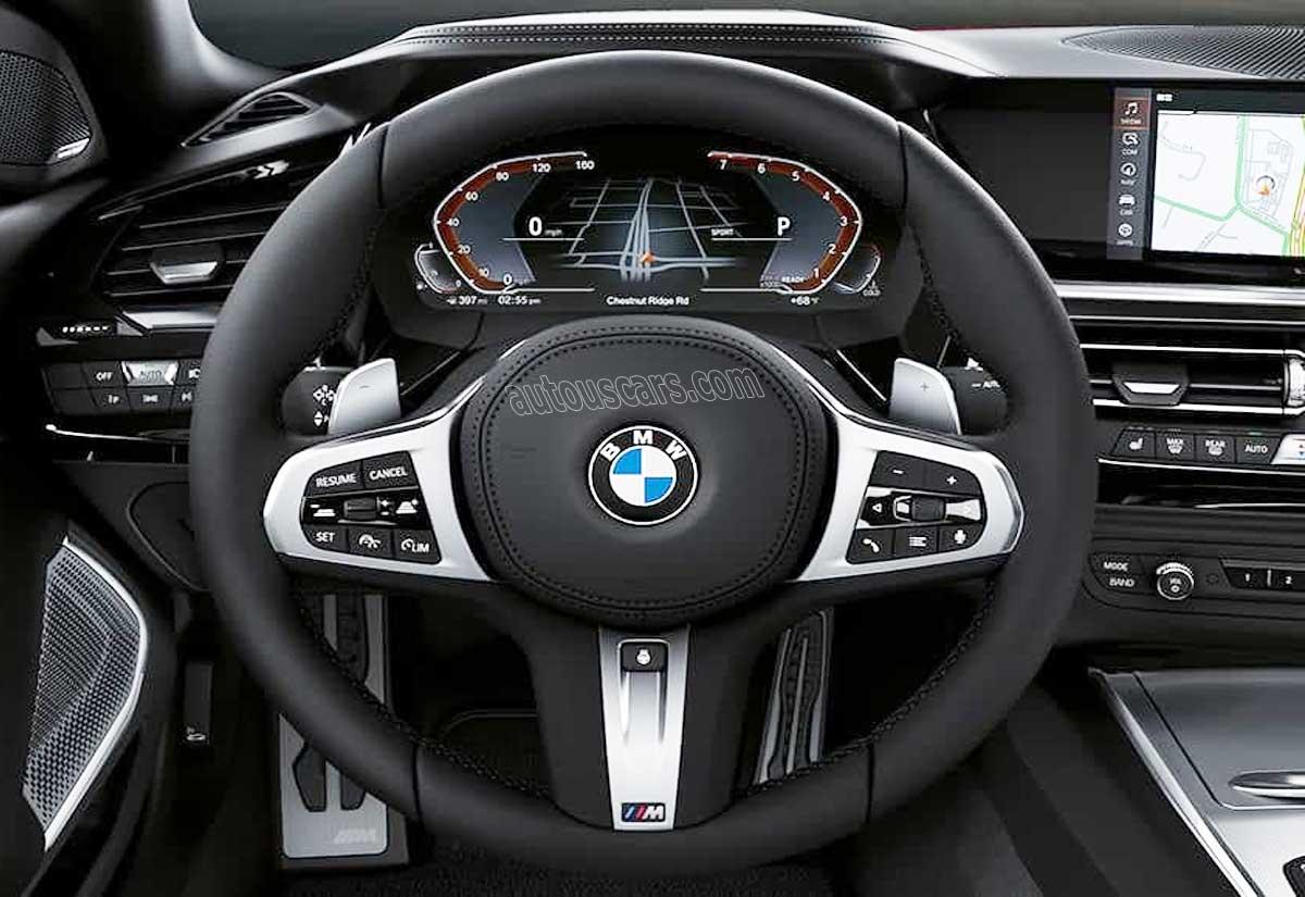 2021 BMW Z4 Infotainment