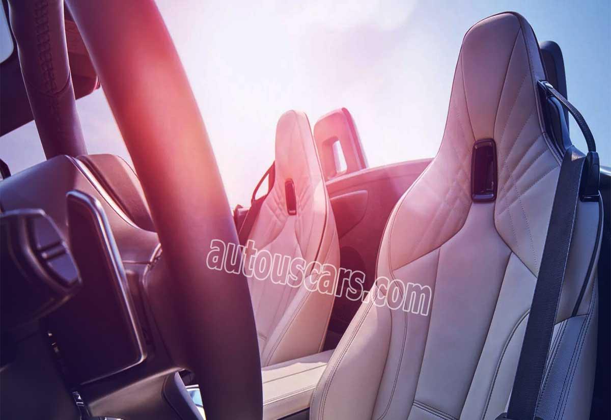 2021 BMW Z4 M40i Interior
