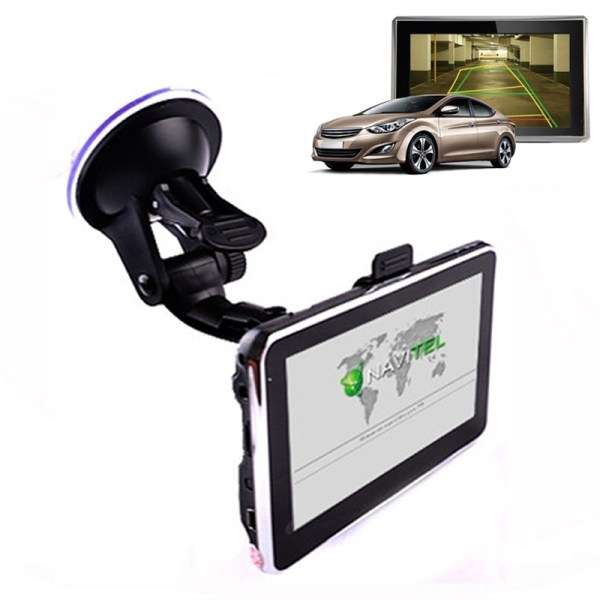 826 4,3-inch TFT-touchscreen Auto GPS Navigator, MediaTekMT3351, WINCE6.0 OS, ingebouwde luidspreker, 128 MB + 4 GB, IGO / NAVITEL-kaarten, FM