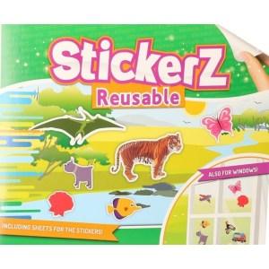 Auto stickers in wilde dieren thema