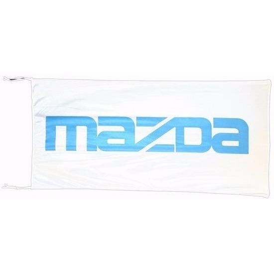 Logo vlag Mazda 150 x 75 cm