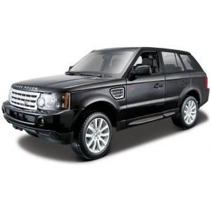 Schaalmodel Range Rover Sport zwart 1:18
