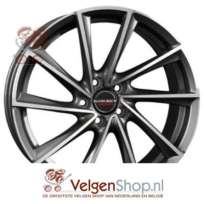 Borbet VTX graphite polished 19 inch