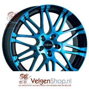 Oxigin 14 Oxrock light blue polish 19 inch