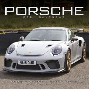 Auto 2021 Porsche wandkalender