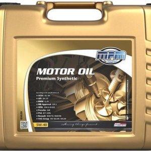 Motorolie 5w40 - 20 liter