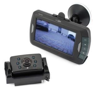 """Digitaal draadloos achteruitrij camerasysteem met 4.3"""" TFT monitor CAM401"""