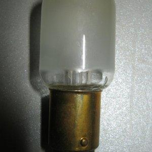 Mazda Naaimachinelampje Buismodel B15 220V 20W mat