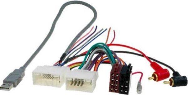 Kia Rio | Sportage | Hyundai i10 | i20 | ISO kabel | verloopstekker voor autoradio