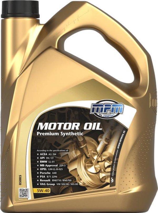 Motorolie 5w40 - 5 liter