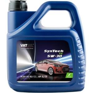 VatOil motorolie SynTech FE 5W 30 4 liter (50040)