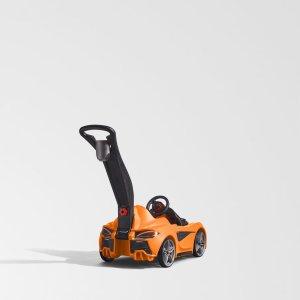 Step2 Loopwagen McLaren® 570S Push Sports Car oranje - Elektronische functies - Incl. duwstang