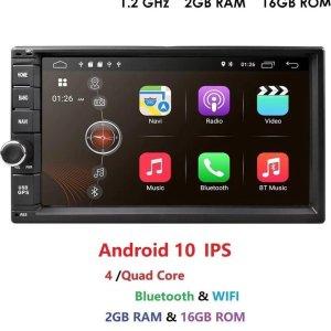 2 din android 2 gb /16 gb /gps/ navigatie / achteruitrij camera dab +