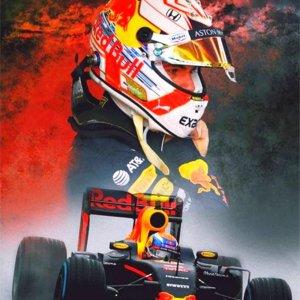 PremiumBenefits - Diamond Painting Max Verstappen - Diamond Painting Pakket Volledig - Formule 1 - Auto