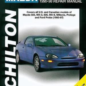 Mazda 323/MX-3/626/MX-6/Millenia/Protege (90 - 98) (Chilton)