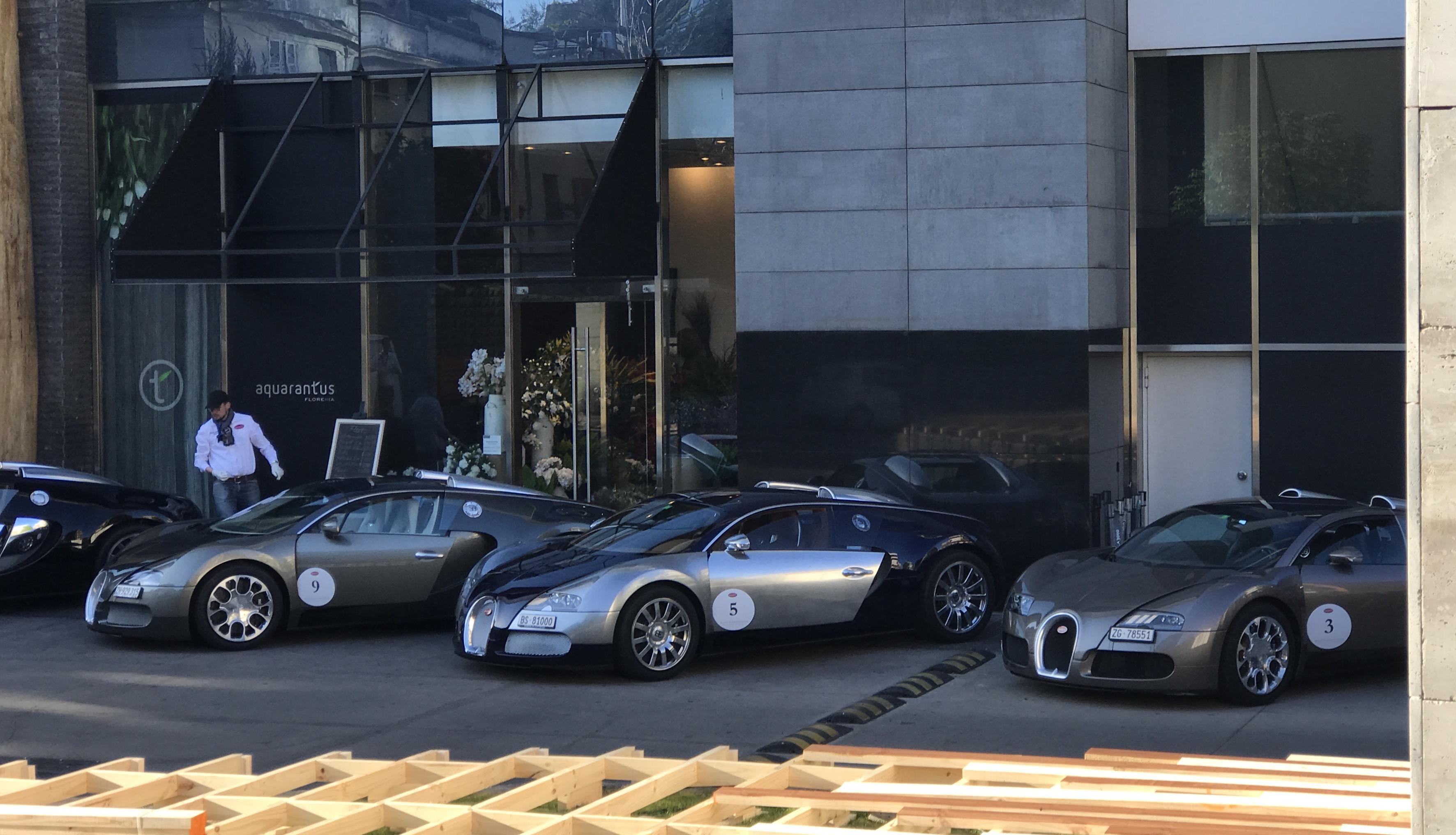 Así se vivió el Bugatti Grand Tour 2017 en Chile