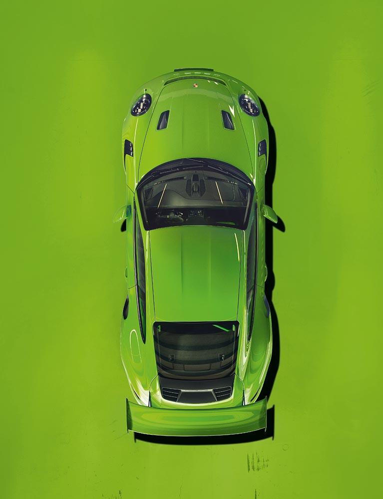 La teoría de los colores según Porsche