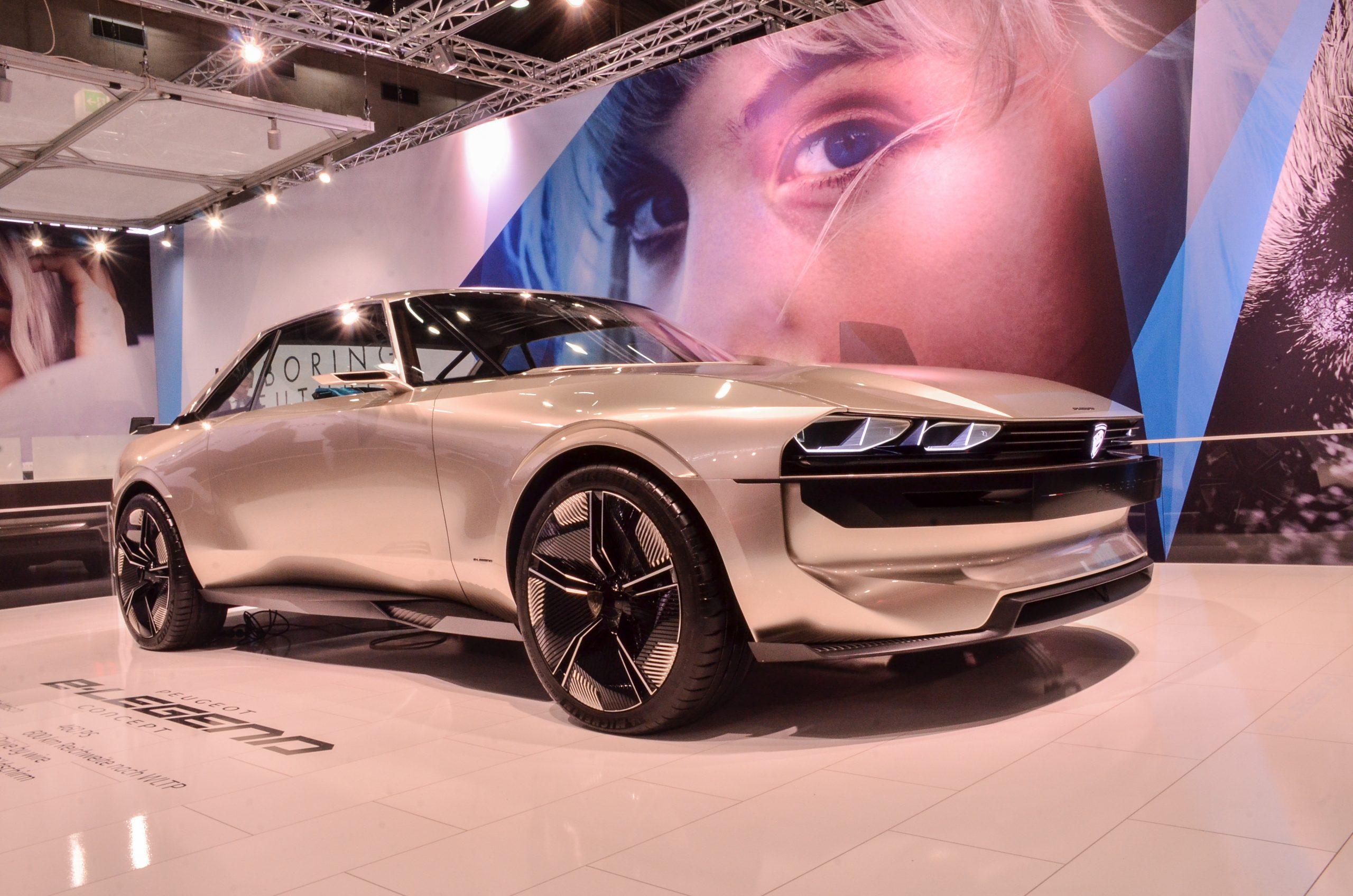 Peugeot E-Legend, la leyenda continua