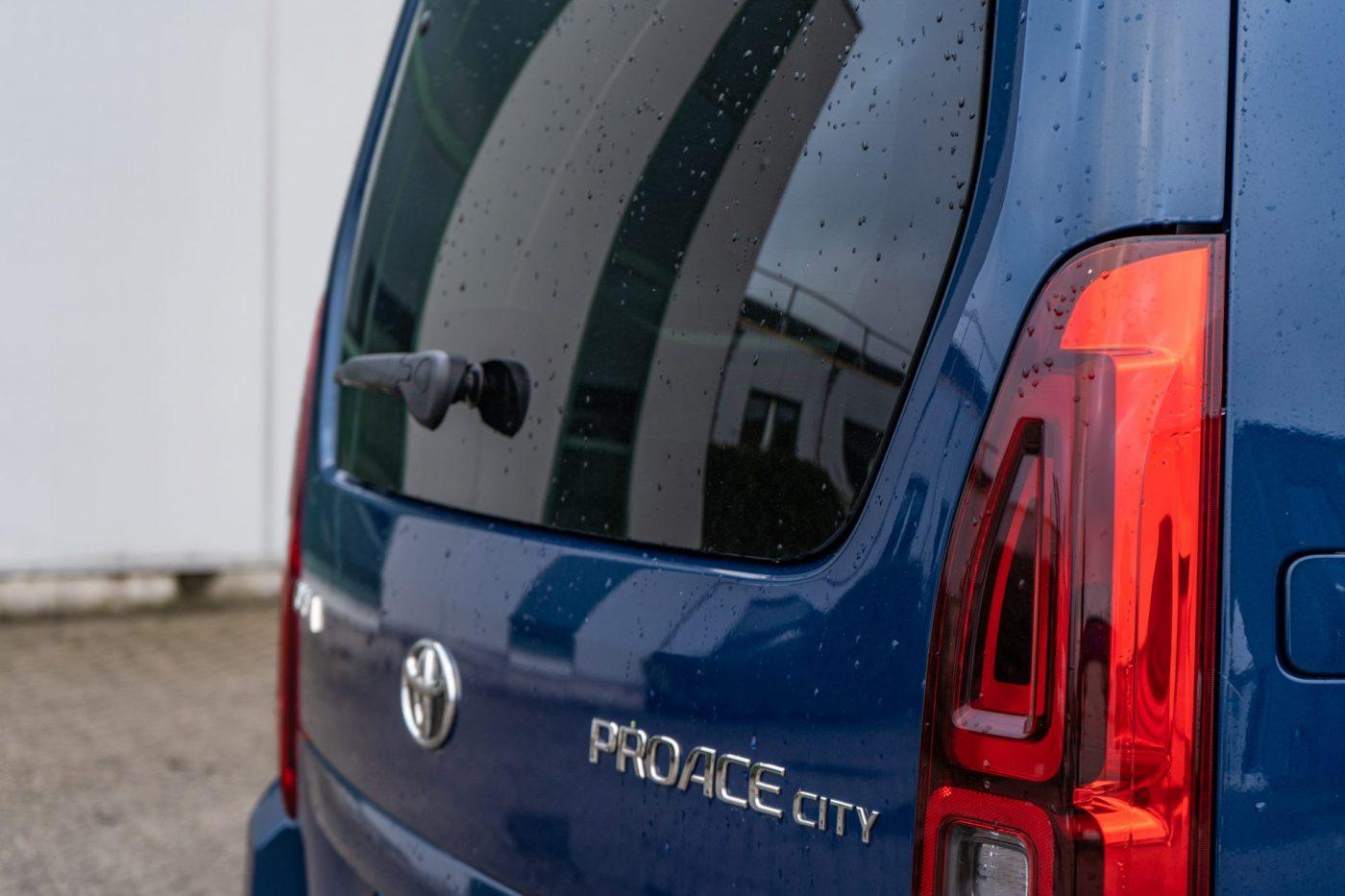 Test Toyota ProAce City